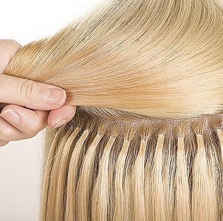 Кератиновое наращивание волос